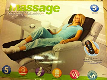Amazon.com: massage Full Body Massage Mat with Soothing Heat ...