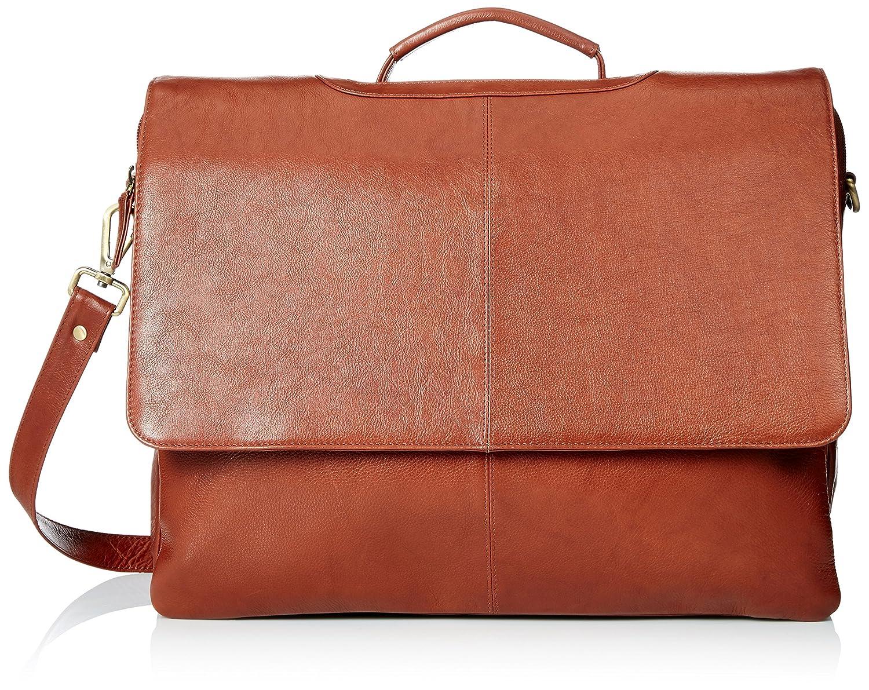 5e3b9a81bc13 Visconti Leather Business Case Bag/Briefcase/Handbag Large, Brown