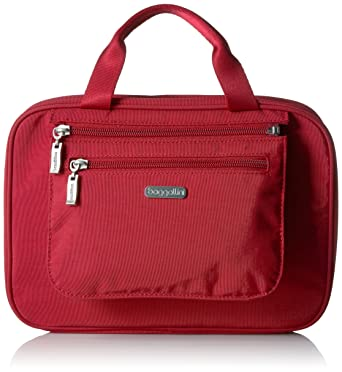 567d8cb797c1 Amazon.com  Baggallini Deluxe Travel Cosmetic Apple  Clothing