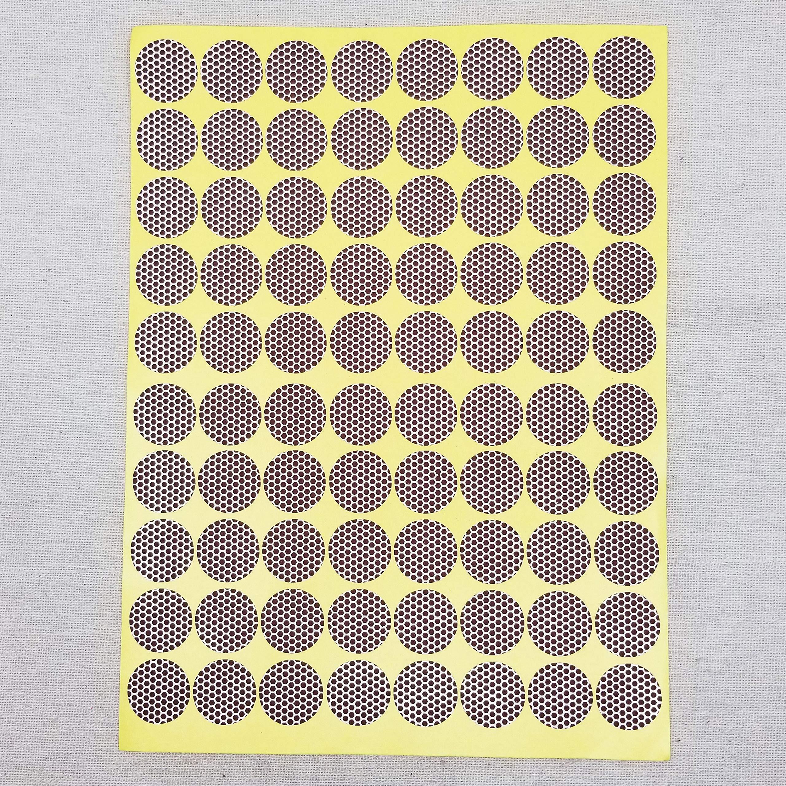 Circle Match Strikers 1.00'' - Honeycomb Pattern - 100 Pieces