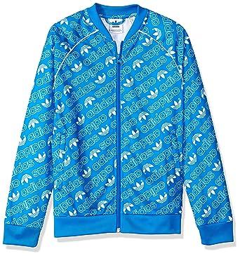 Amazon.com  adidas Originals Boys  Trefoil Monogramed Superstar Tracktop   Clothing d65c1f1be