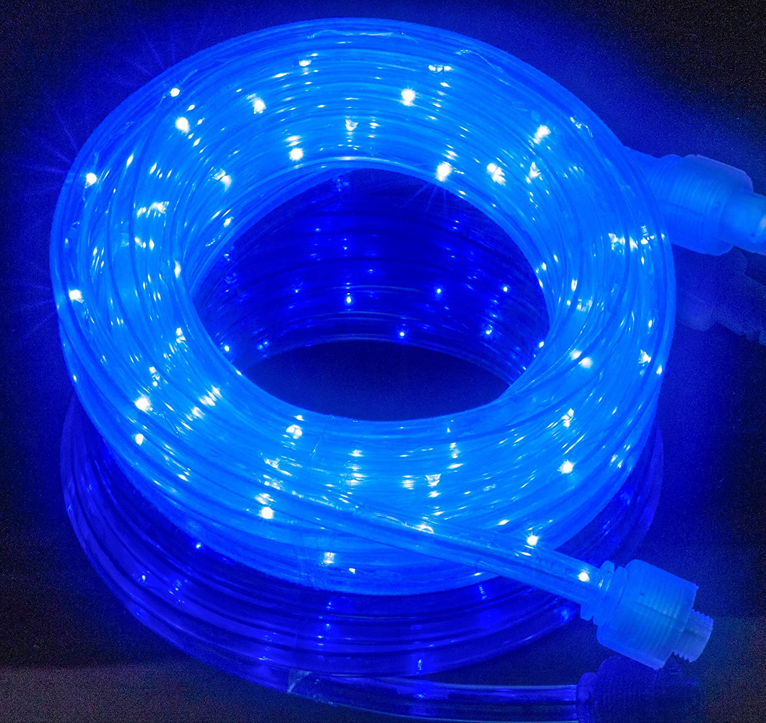 premium selection 13cf9 b1a94 Izzy Creation 18FT Blue LED Flexible Rope Lights Kit, Indoor/Outdoor  Lighting, Home, Garden, Patio, Shop Windows, Christmas, New Year, Wedding,  ...