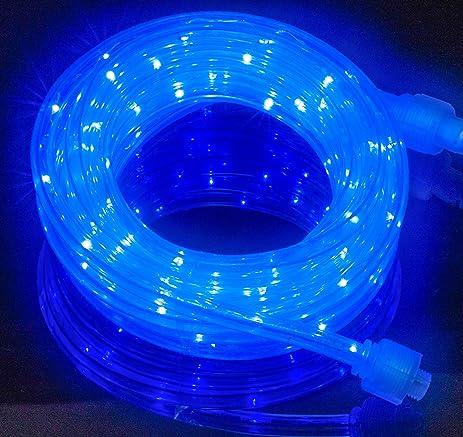 Izzy Creation 18FT Blue LED Flexible Rope Lights Kit, Indoor / Outdoor  Lighting, Home