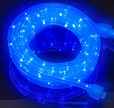 Amazon izzy creation 18ft blue led flexible rope lights kit izzy creation 18ft blue led flexible rope lights kit indooroutdoor lighting home aloadofball Choice Image