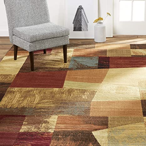 Home Dynamix Catalina Bismark Contemporary Geometric Abstract Area Rug Furniture Decor