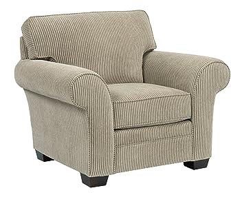 Amazoncom Broyhill Zachary Chair OffWhite Beige Kitchen Dining - Broyhill zachary sofa