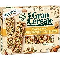 Gran Cereale Snack Barrette con Grano Mandorle e Semi di Zucca - 135 gr
