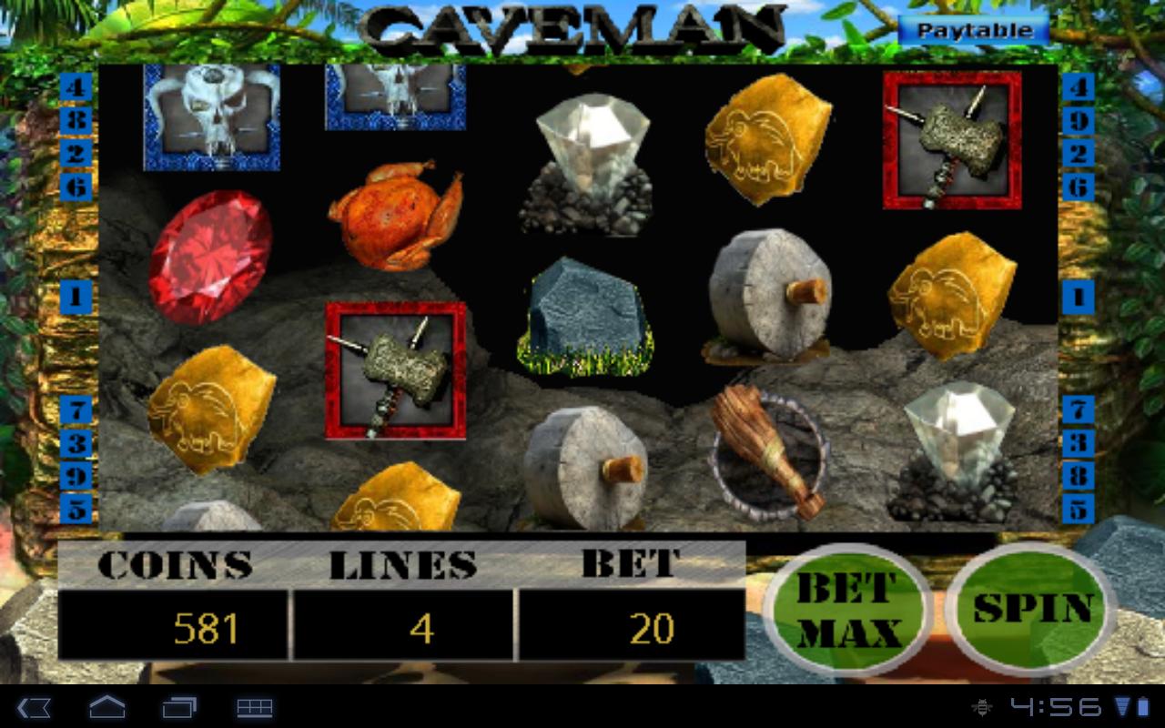 Vegas Slot Machine - CAVEMAN: Amazon.es: Appstore para Android