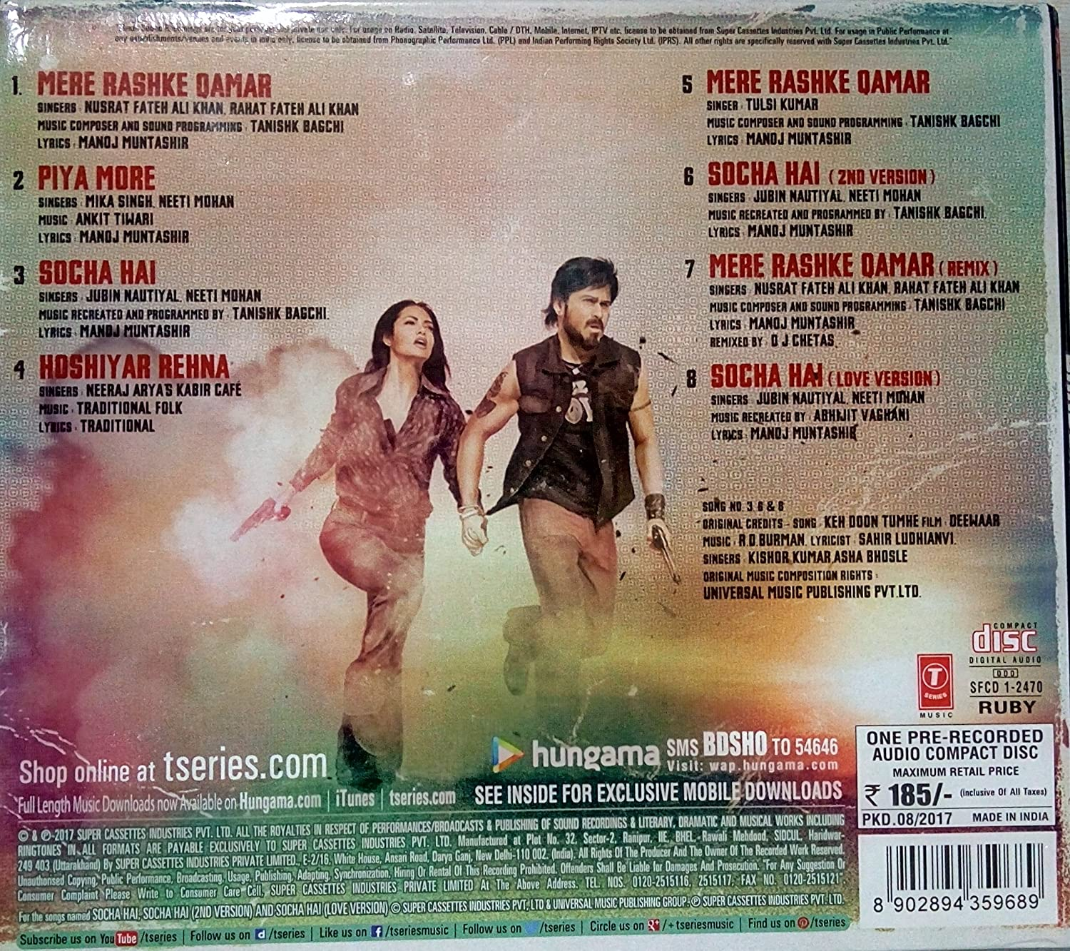 Buy Baadshaho Online At Low Prices In India Amazon Music Store