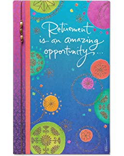 Amazon american greetings time of your life retirement american greetings amazing opportunity retirement congratulations card with glitter m4hsunfo Image collections