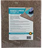 """Quilter's Pressing Mat (Pad) 14"""" x 16""""(224 sq in) Quality Wool Ironing Mat. Quilting Embroidery Stitching Sewing Applique Work Patchwork Garment Work. Crisply Pressed Seams with Professional Results"""