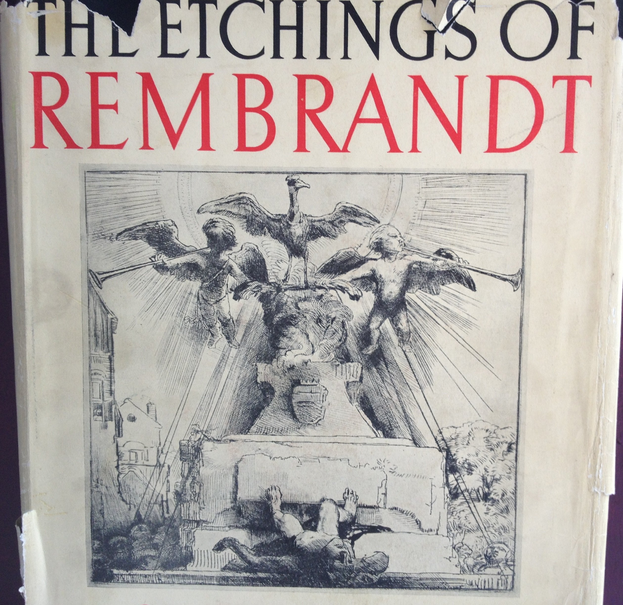 the etchings of rembrandt complete edition in two volumes