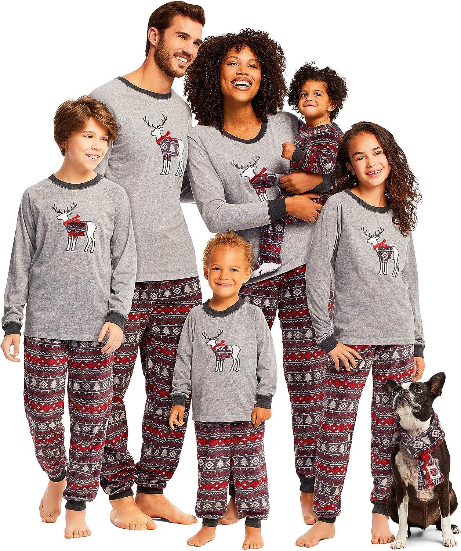 Long Sleeve Top /& PJ Pants Family Cabin Cozy Matching Pajama Sets