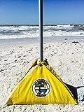 "beachBUB Ultra ""The Patio Umbrella Base Made for the Beach"" to Work on All Beach Umbrellas"