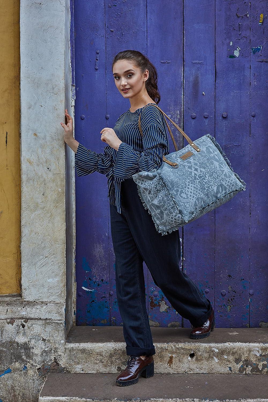 Myra Bag Patterns Upcycled Canvas Weekender Bag S-1141
