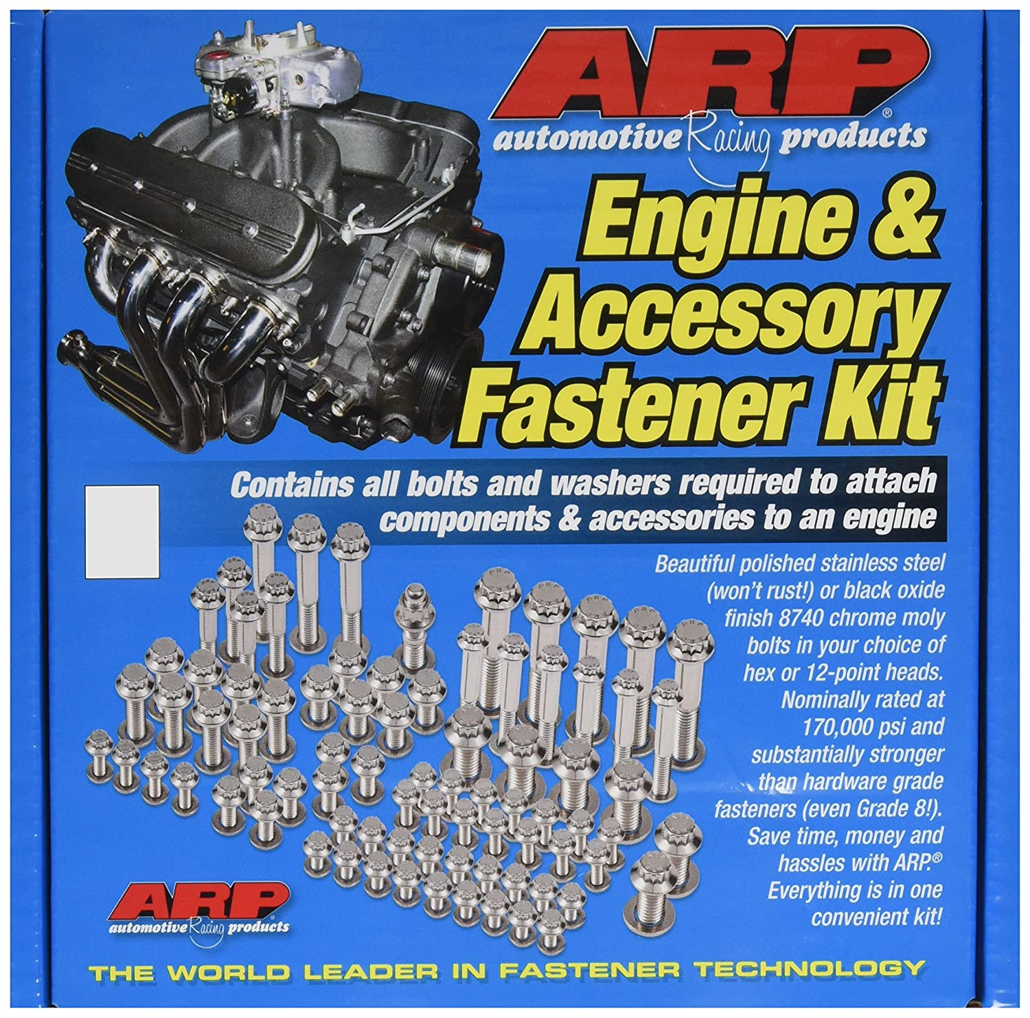 ARP 545-9501 12-Point Stainless Steel Complete Engine Fastener Kit