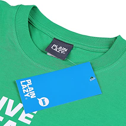 75fd4e18 Plain Lazy Men's Give Peas A Chance Short Sleeve T-Shirt: Amazon.co.uk:  Clothing