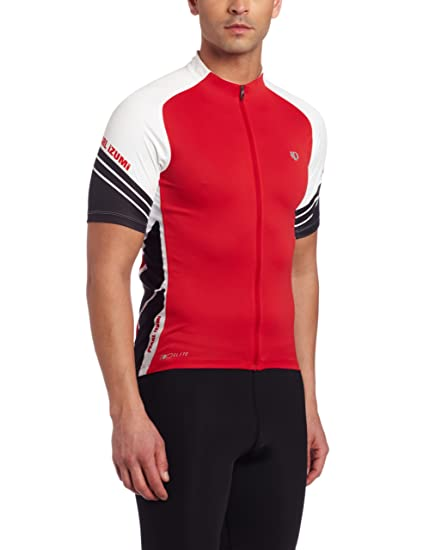 09765a8e7 Amazon.com   Pearl Izumi Men s Elite Jersey   Cycling Jerseys   Clothing