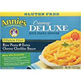 Annie's Homegrown Deluxe Mac & Cheese - Rice Pasta & Extra Cheesy Cheddar Sauce (Gluten-Free) - 11 oz