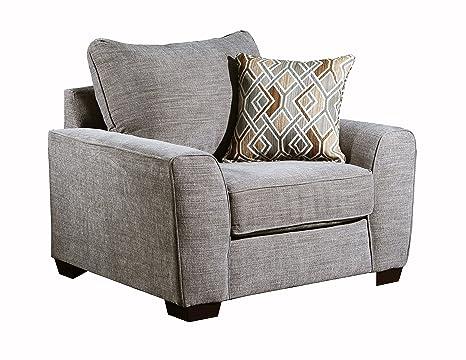 Amazon.com: Simmons Upholstery 9770BR-01 - Silla de pompei ...