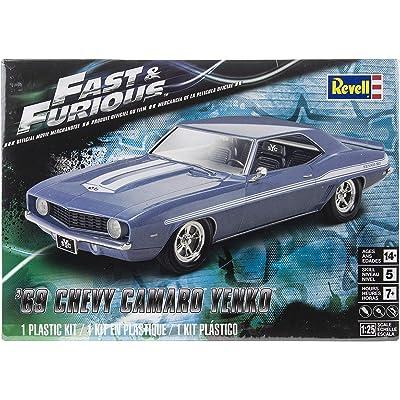 Revell Fast & Furious 69 Chevy Yenko Camaro Model Kit: Toys & Games
