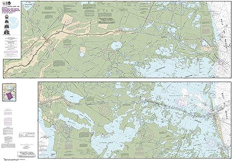Amazon.com : NOAA Chart 11365 Barataria and Bayou Lafourche ...