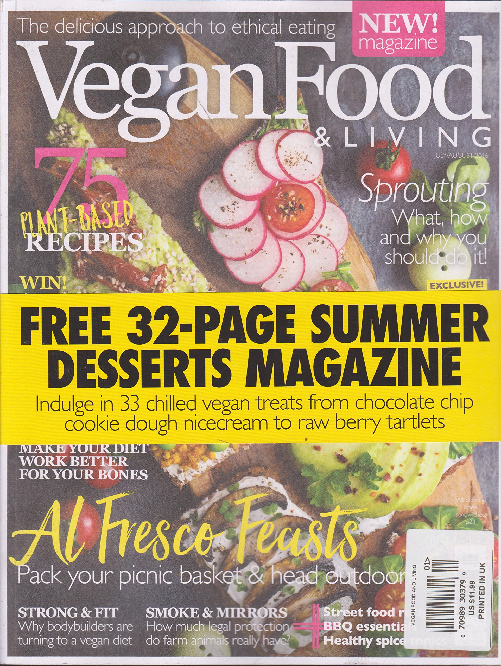 Download Vegan Food & Living Magazine July/August 2016 pdf epub