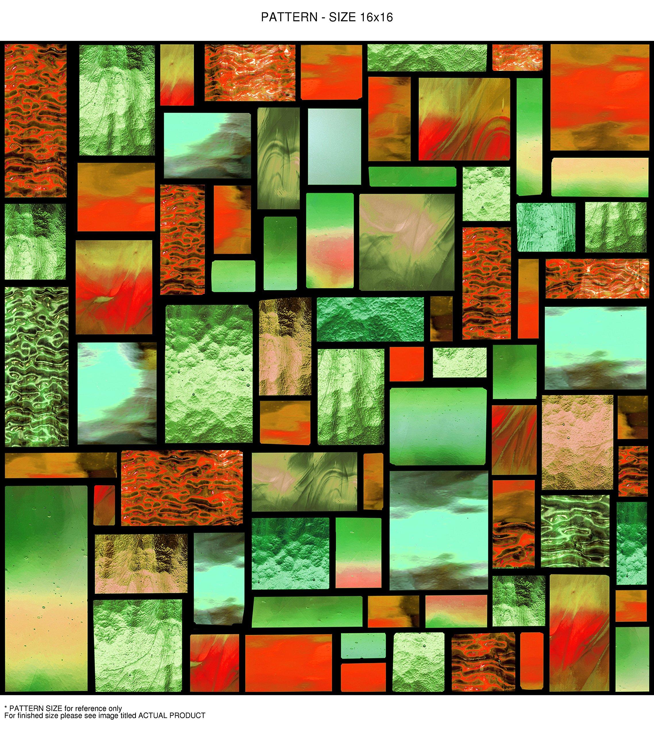 Windowpix WF105-36x48 36x48 Decorative Static Cling Window Film