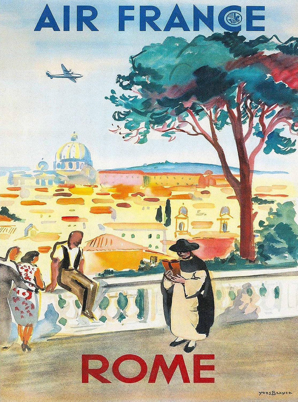 Amazon.com: Rome Italy St. Peter\'s Basilica Roman Italian Air France ...