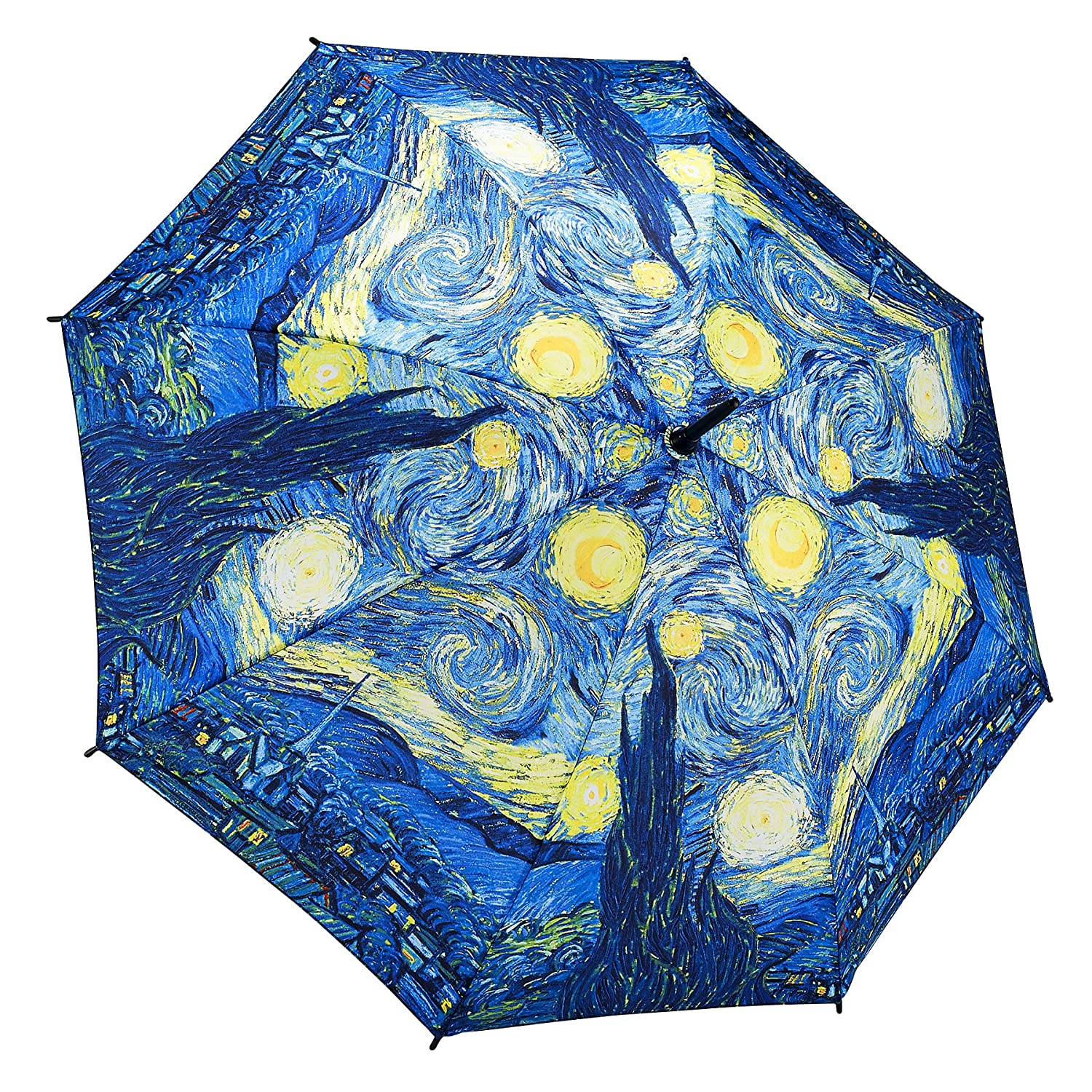 amazon com galleria starry night stick umbrella van gogh