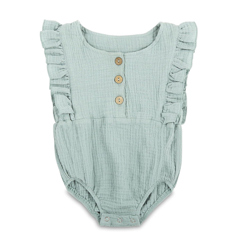 Amazon.com: Babe Basics - Pelele de algodón para bebé: Clothing