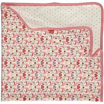 Magnificent Baby Baby-Girls Newborn Girl's Love Birds 2-Ply Reversible Blanket