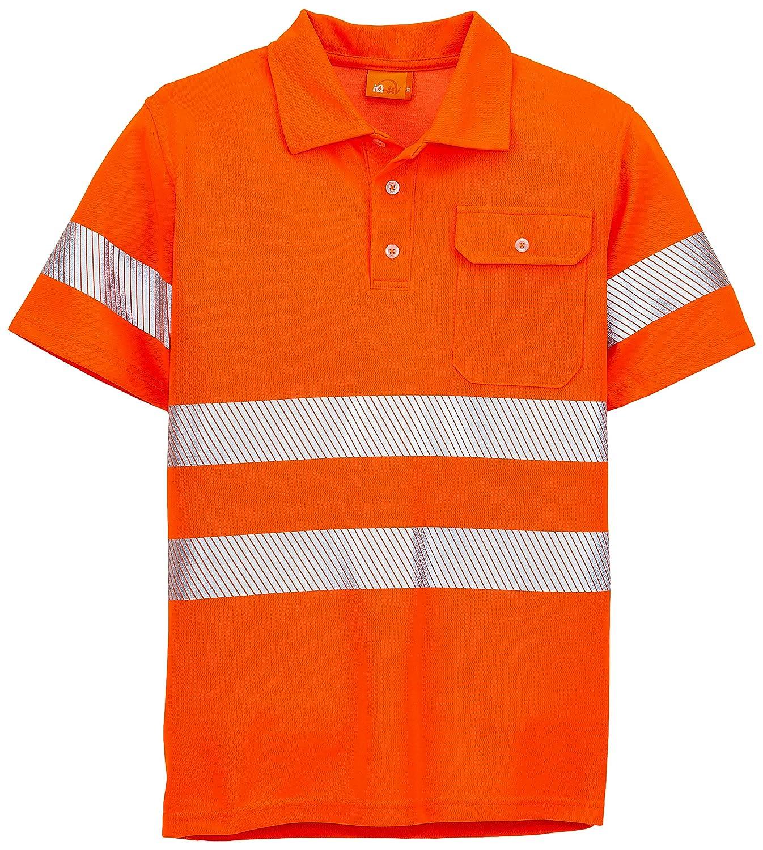 iQ-UV w6380024260-60-4XL UV-Schutz 50 plus T-Shirt mit Warnschutz nach EN20471 Orange Hv 4XL