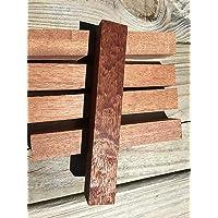 (Sapele) - Exotic Wood Pen Blanks 9-Pack: Sapele