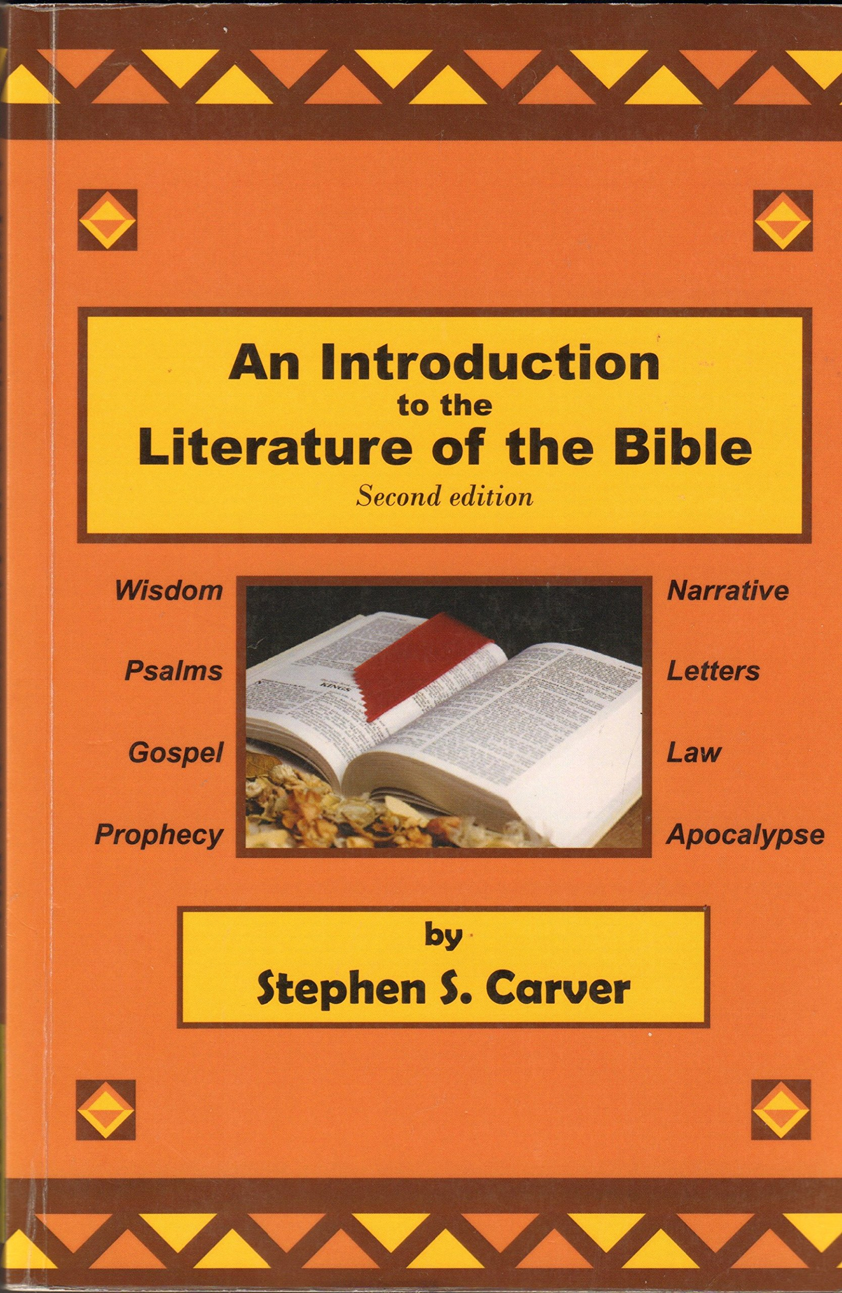 Literature craft and voice 2nd edition - Introduction To The Literature Of The Bible Stephen S Carver 9780615330044 Amazon Com Books