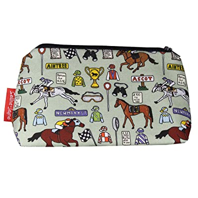 Selina-Jayne Horse Racing Limited Edition Designer Toiletry Bag