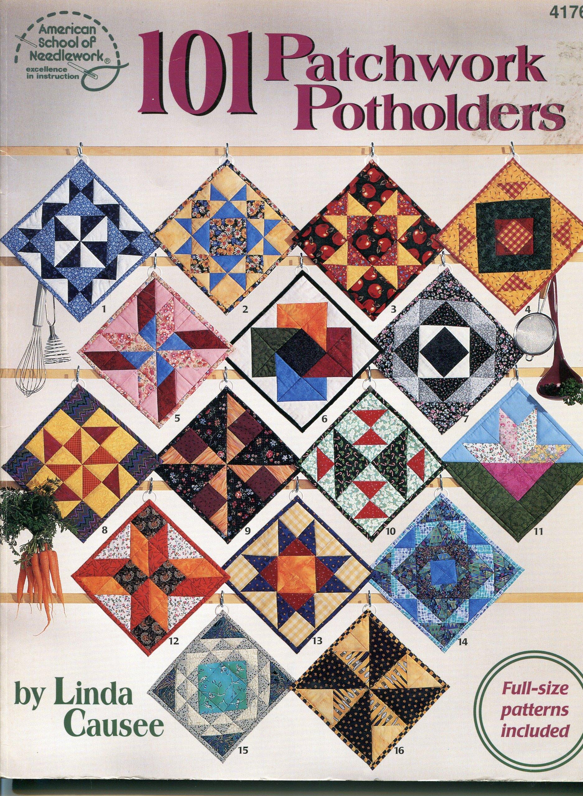 Read Online 101 Patchwork Potholders (4176) pdf epub