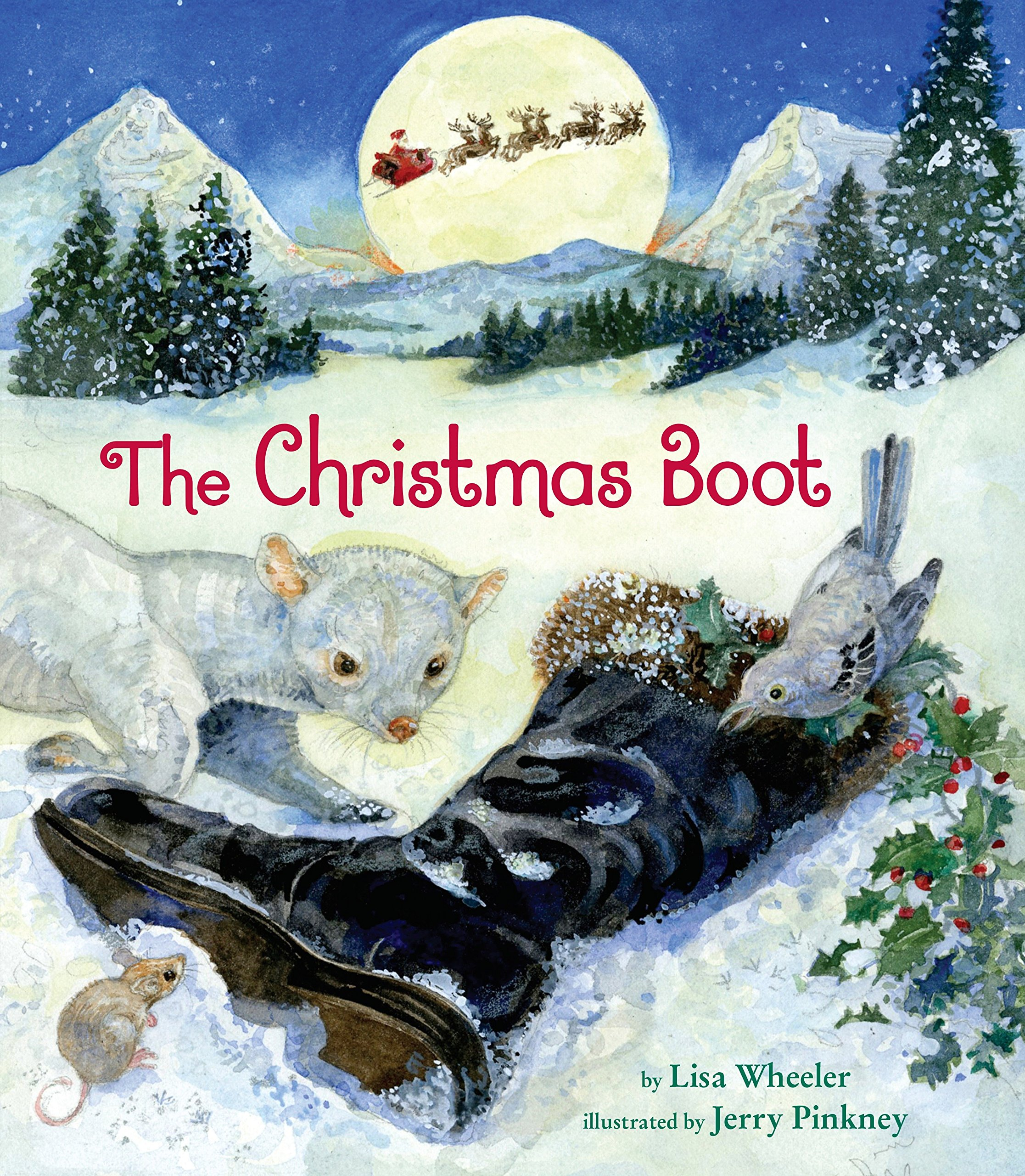 The Christmas Boot: Lisa Wheeler, Jerry Pinkney: 9780803741348 ...