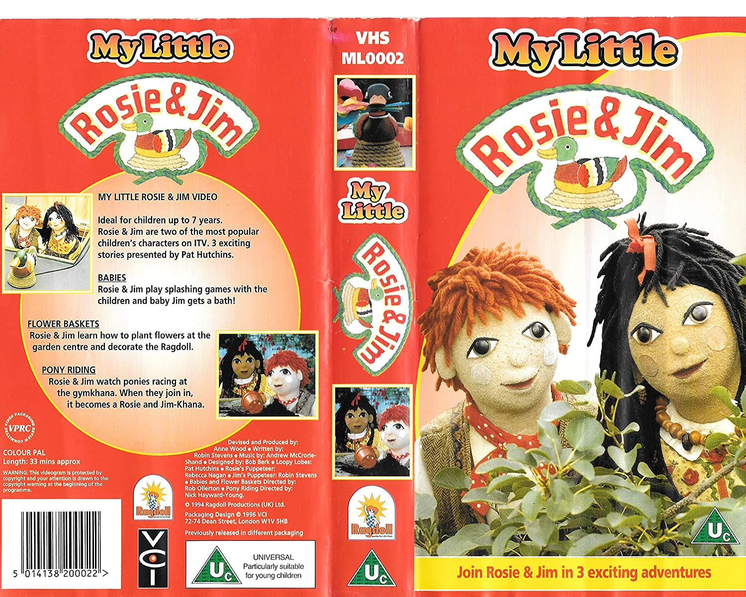 My Little Rosie & Jim: Babies / Flower Baskets / Pony Riding