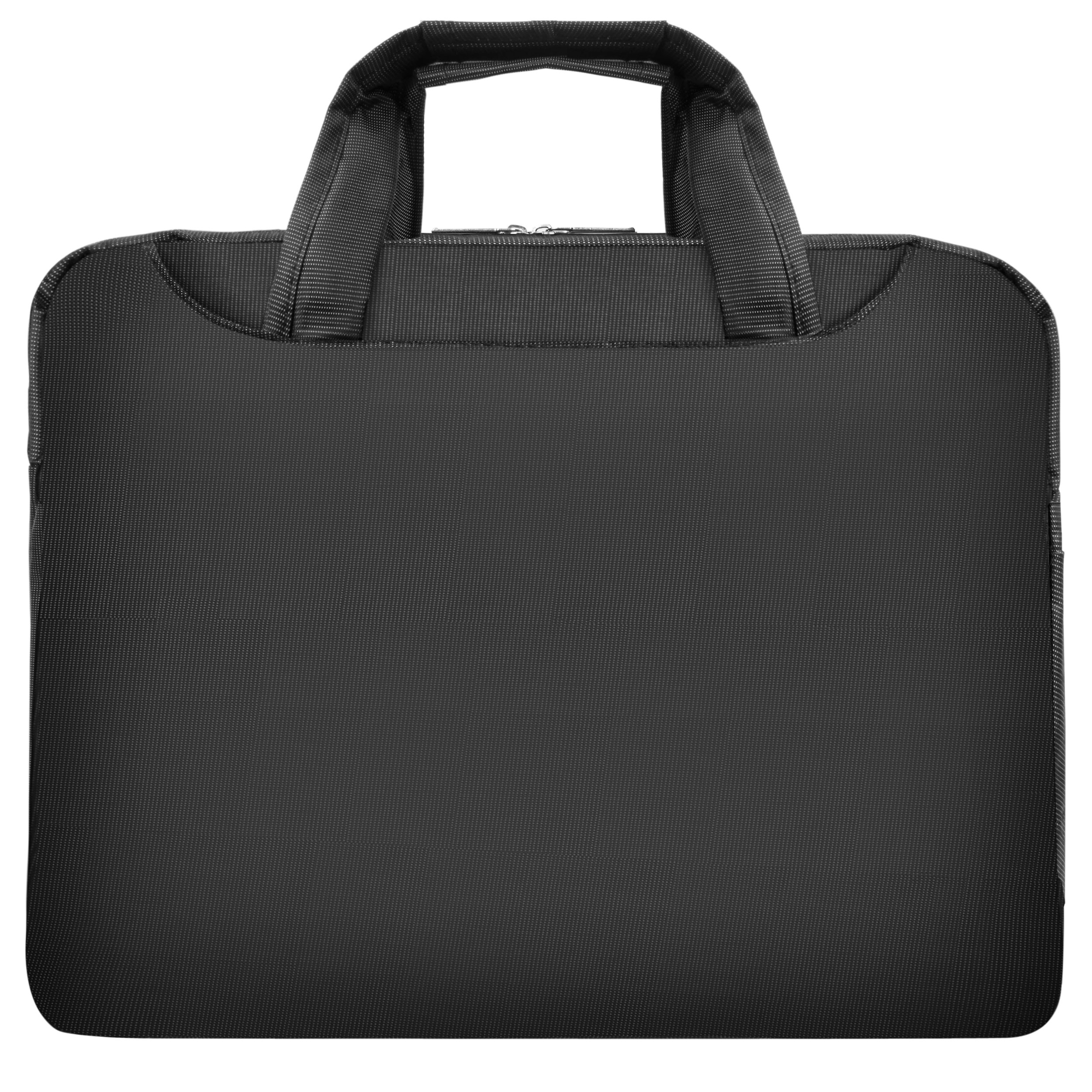 VanGoddy NineO Slim Slate Grey Messenger Bag for Microsoft Surface Laptop / Surface Book / Surface Pro Series 11''-13.5in by Vangoddy (Image #3)
