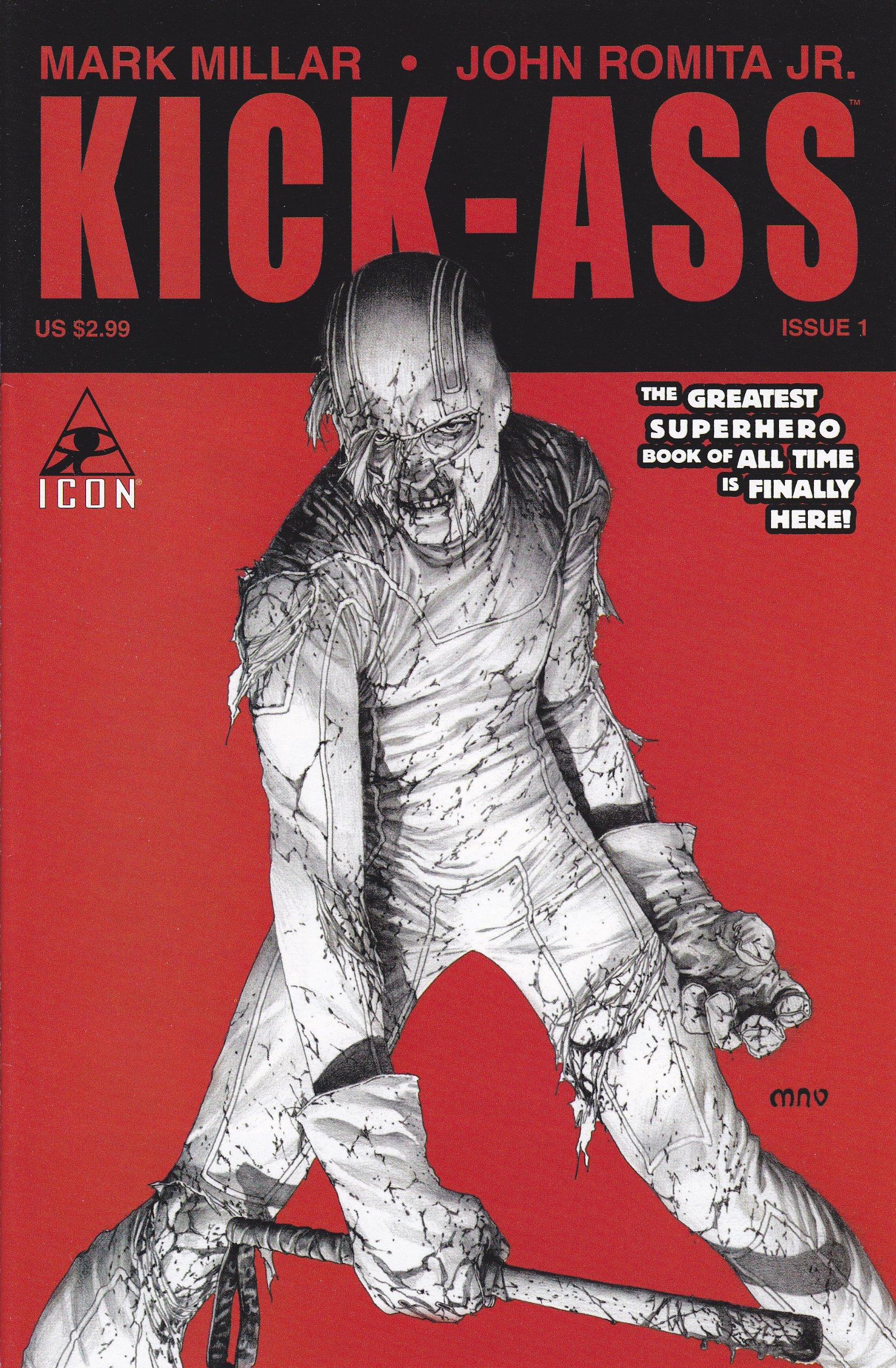 Download Kick-Ass #1 B Retailer Incentive Variant Cover B ebook