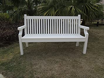 Admirable Memorial Bench No Maintenance White 3 Seater 5Ft Bench Uwap Interior Chair Design Uwaporg