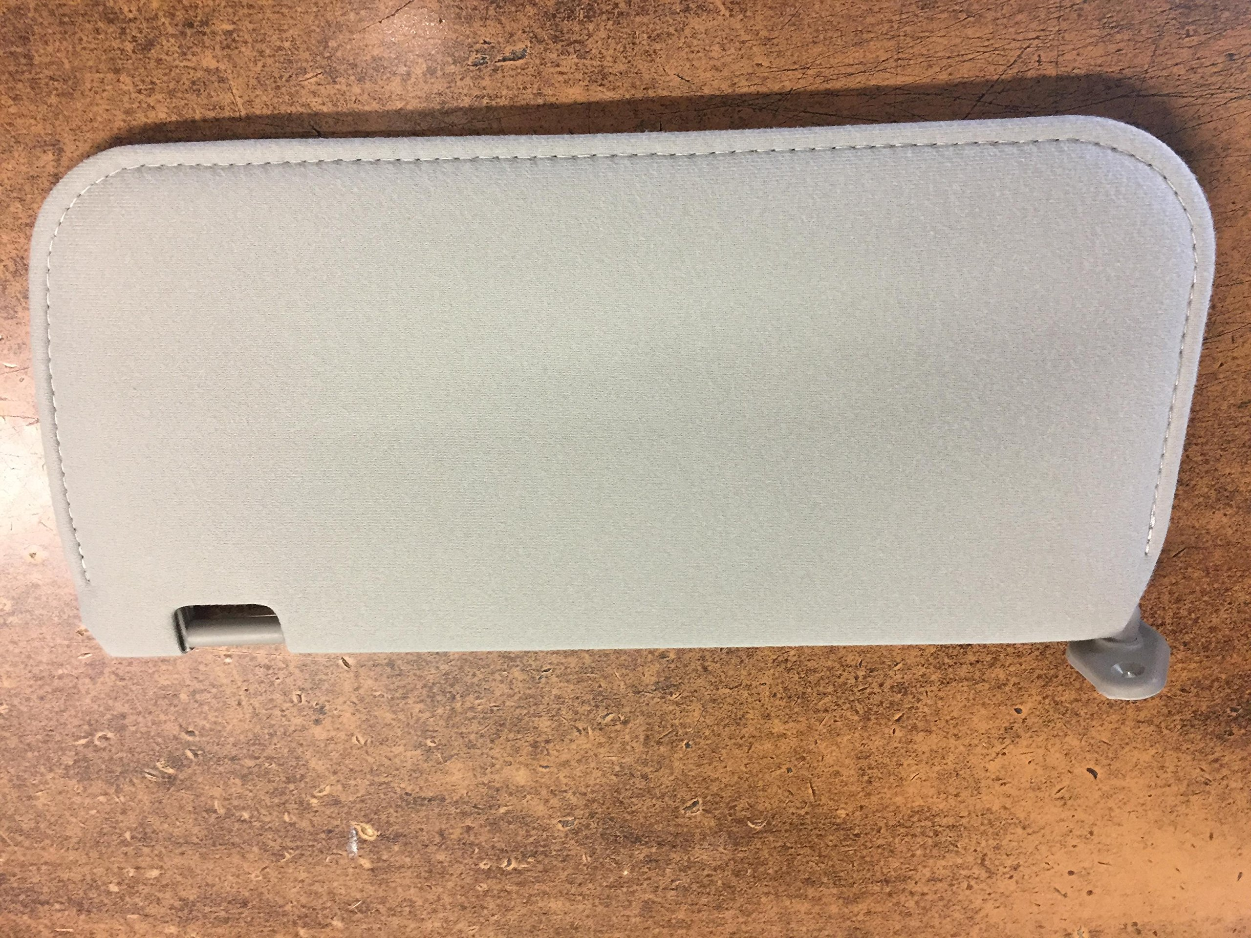 NEW OEM NISSAN 2002-2004 XTERRA / FRONTIER LEFT SIDE SUNVISOR - GREY IN COLOR by Nissan (Image #2)