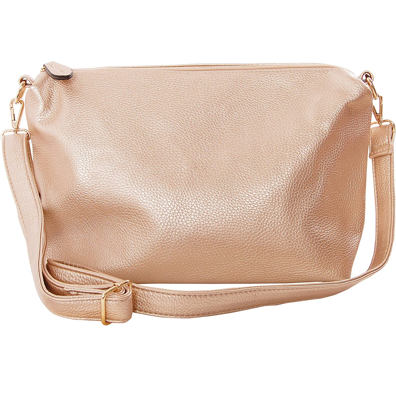 7762d89f8c6d Humble Chic Crossbody Bag - Vegan Leather Satchel Messenger Hobo ...