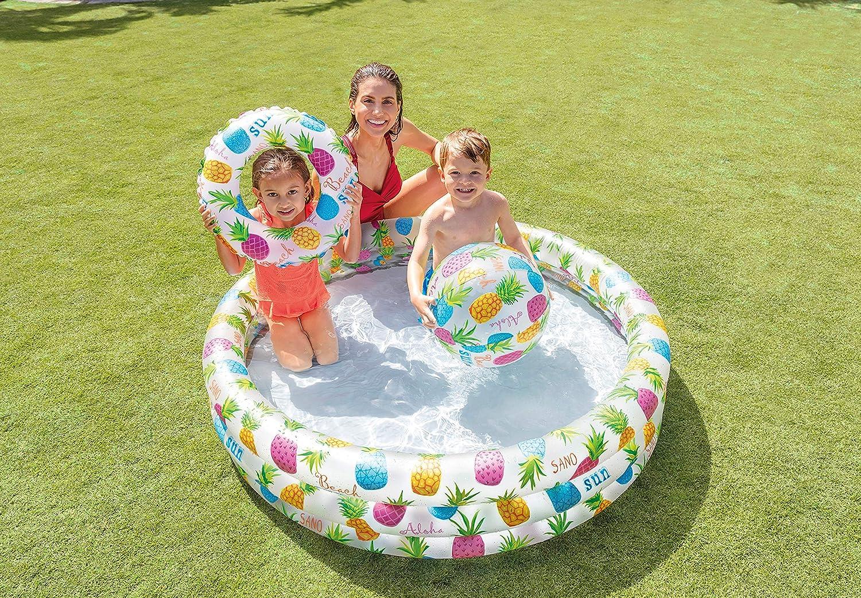 Intex 59469NP - Piscina, flotador y pelota de 51 cm, 132 x 28 cm ...
