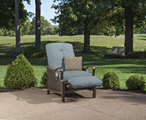 Hanover Outdoor Ventura Outdoor Luxury Recliner, Ocean Blue