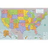 Peel & Stick USA Wall Map