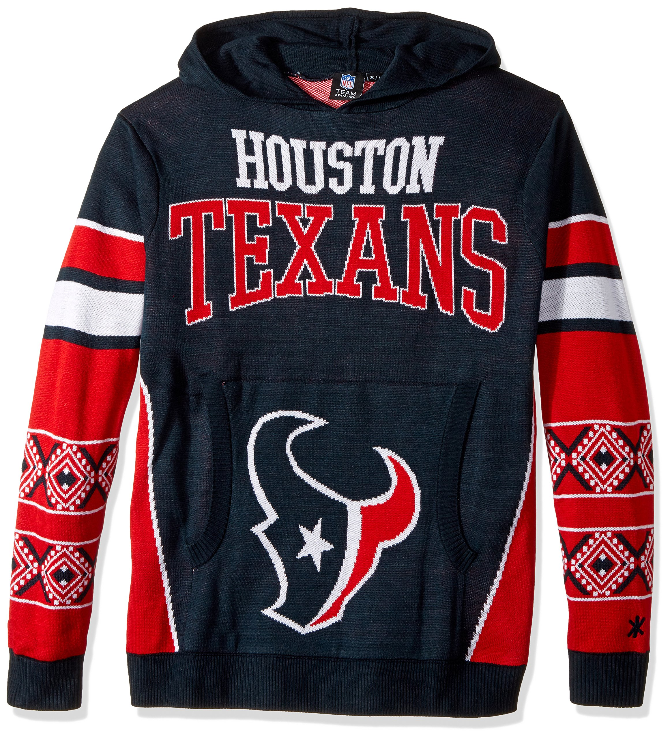 Houston Texans Big Logo Hooded Sweater Extra Large