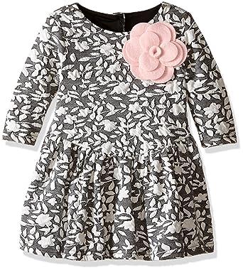Amazon Pippa Julie Girls Little Long Sleeve Knit Corsage
