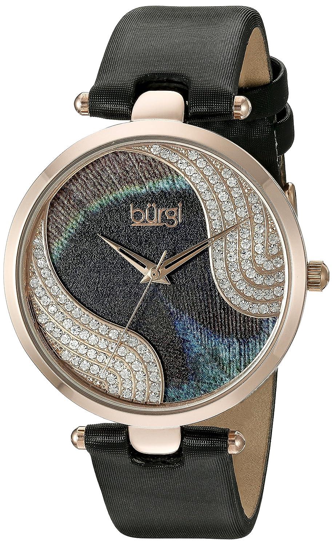Burgi Damen-Armbanduhr Woman Analog Quarz BUR131BKR
